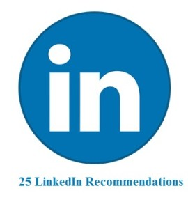 25 LinkedIn Recommendations