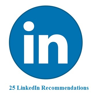 25 LinkedIn Recommendations