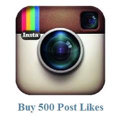 500 instagram post likes