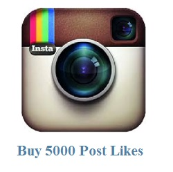 5000 instagram post likes