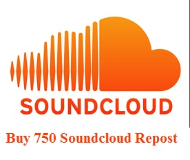 750 Soundcloud Repost