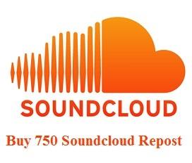 750 Soundcloud Repost
