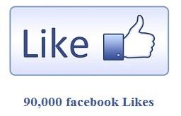 90,000 Facebook Likes