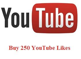 Buy 250 YouTube Likes