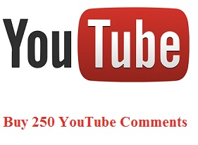 Buy 250 YouTube comments