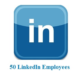 50 LinkedIn Employees
