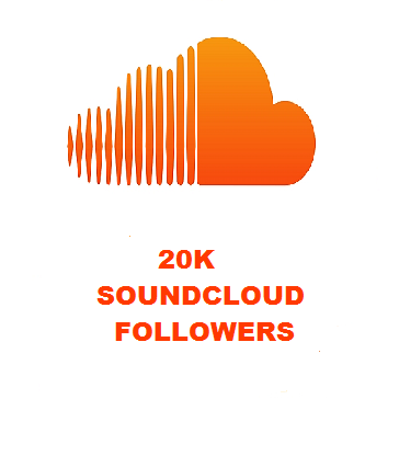 20K SOUNDCLOUD FOLLOWERS